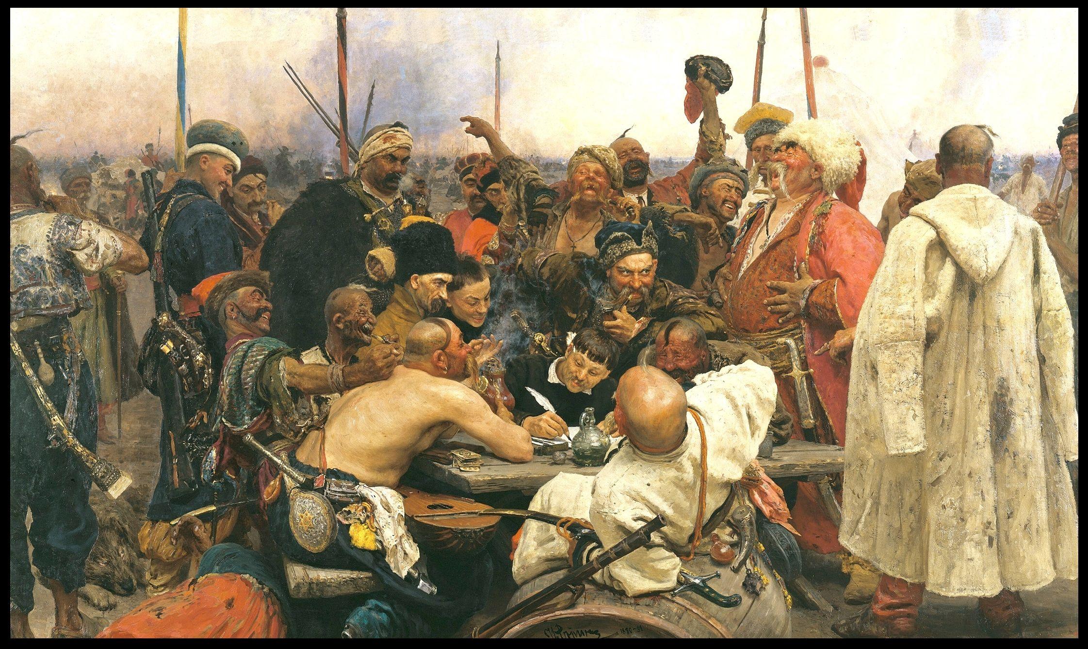 відповідь справжніх козаків султану